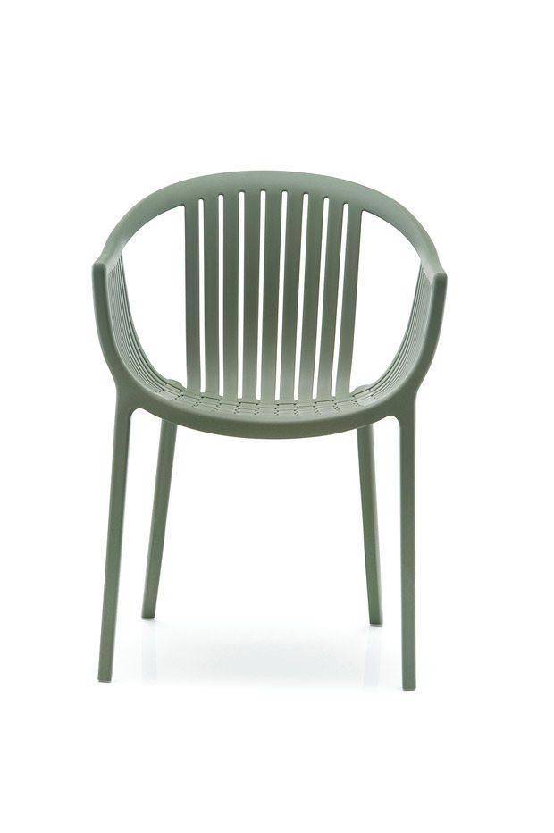 Pedrali TATAMI stolička zelená