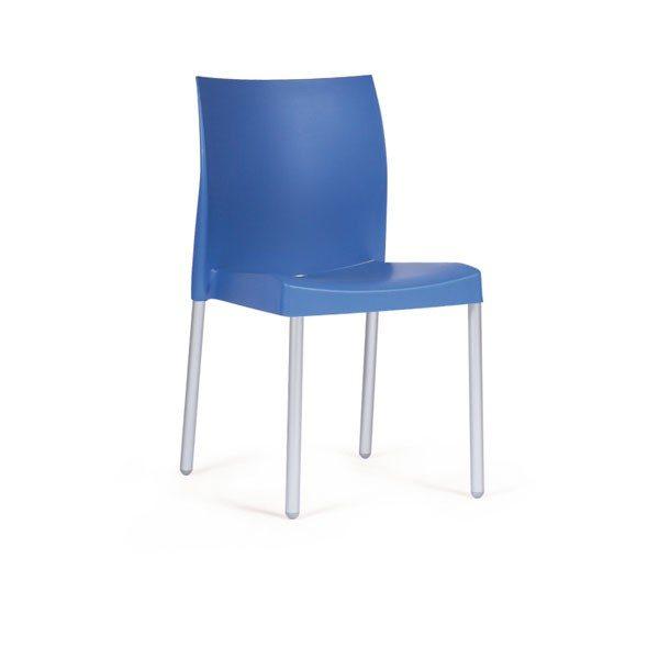Stolička azúrová Pedrali ICE 800