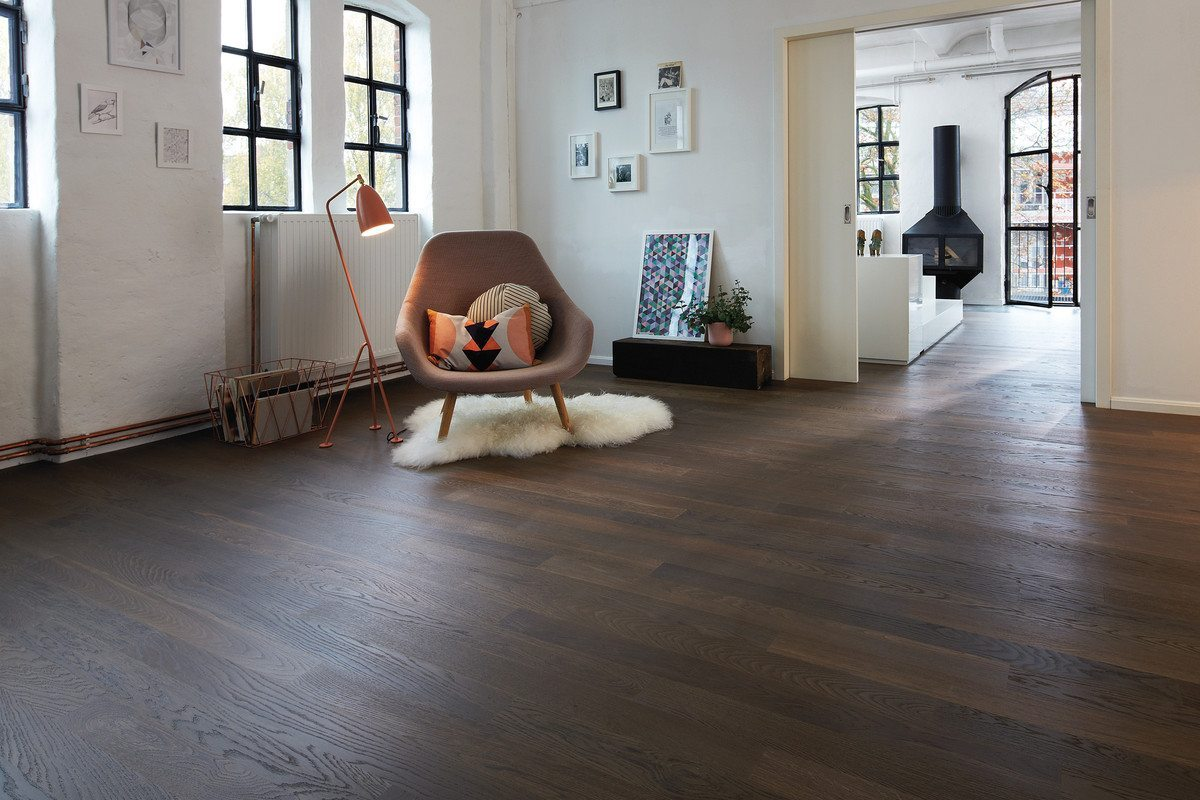 Cleverpark, Pečený dub, Crema Drevená podlaha