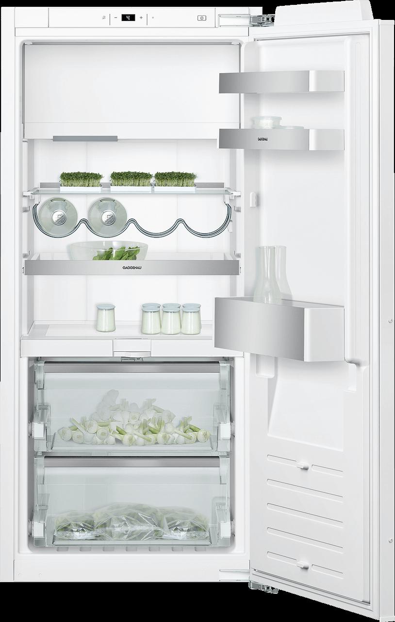 Kombinácia chladnička s mrazničkou 122,5 cm x 56 cm | Gaggenau RT222102 séria 200