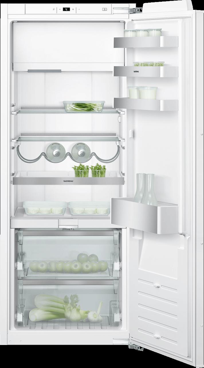 Kombinácia chladnička s mrazničkou 140 cm x 56 cm | Gaggenau RT242203 séria 200
