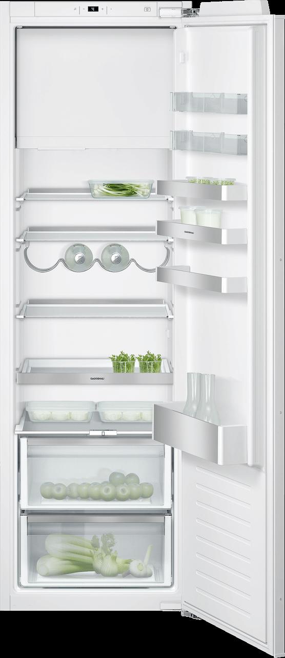 Kombinácia chladnička s mrazničkou 140 cm x 56 cm | Gaggenau RT282203 séria 200