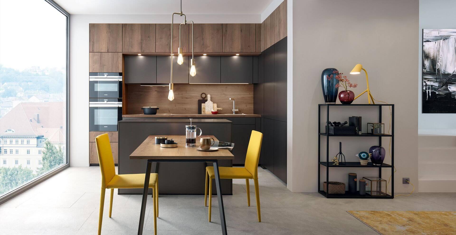 Kuchyňa CORTINA - Elegantná kuchyňa v meste | Schuller C