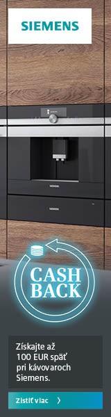 Získajte až 100 EUR späť pri kávovaroch Siemens